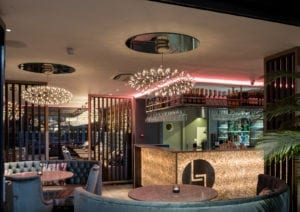 Miami style dining under starlit skies (in…ahem, Exeter)….restaurant design