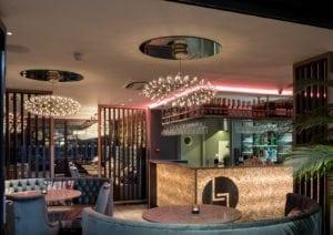 Miami style dining under starlit skies (in…ahem, Exeter)….restaurant design