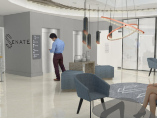 Lobby and office Interior design