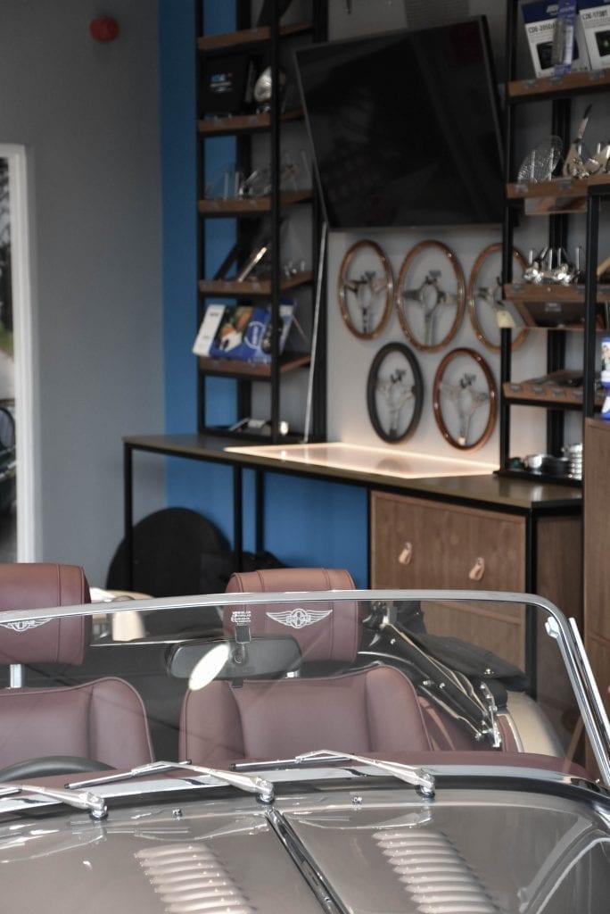 Morgan Car Showroom interior design