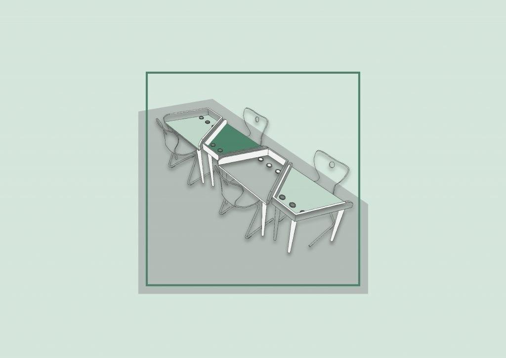 Tri-Desk